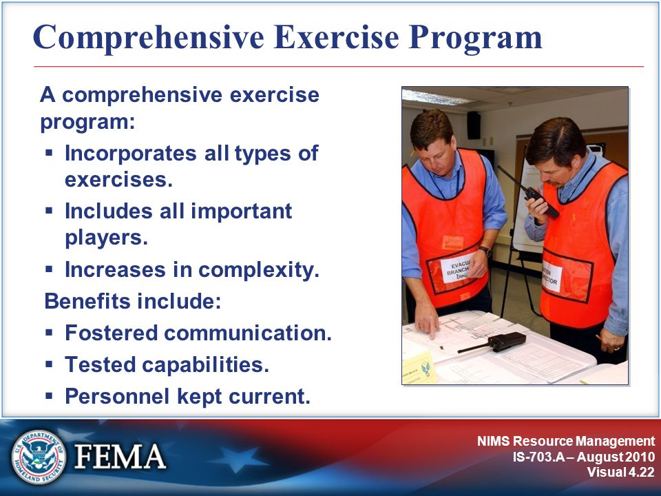 Comprehensive Exercise Program