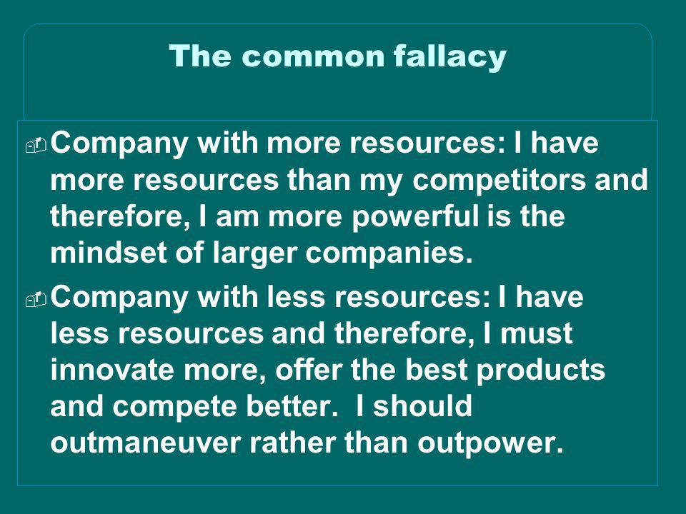 The common fallacy