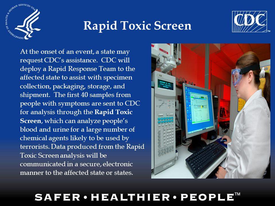 Rapid Toxic Screen