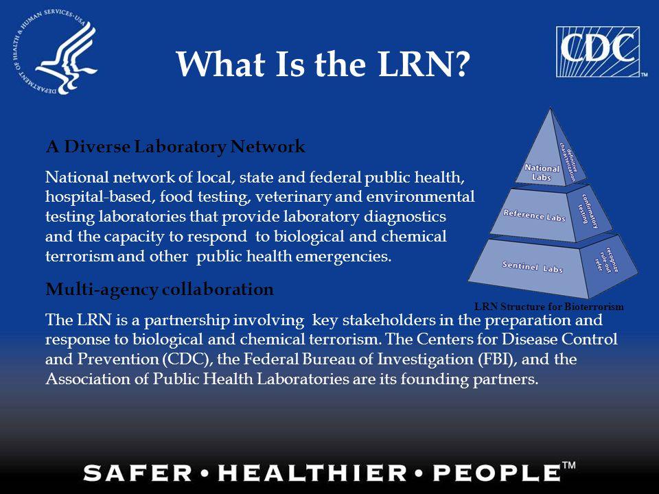 LRN Structure for Bioterrorism