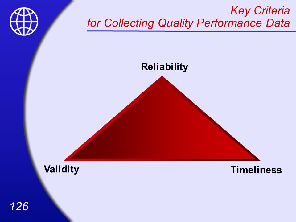 Key Criteria for Collecting Quality Performance Data