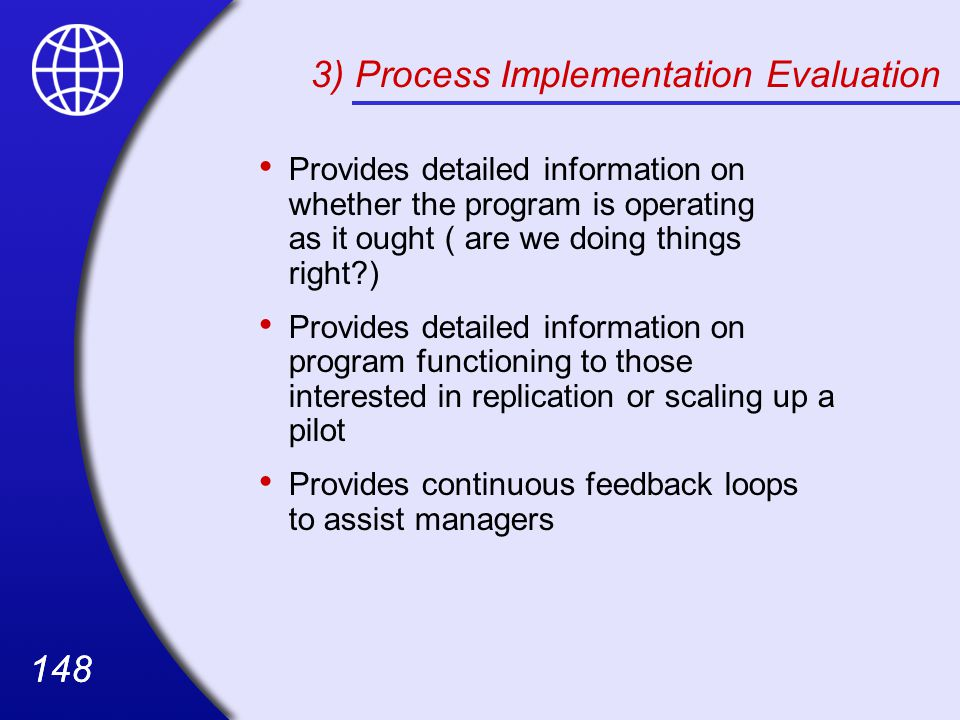 3) Process Implementation Evaluation