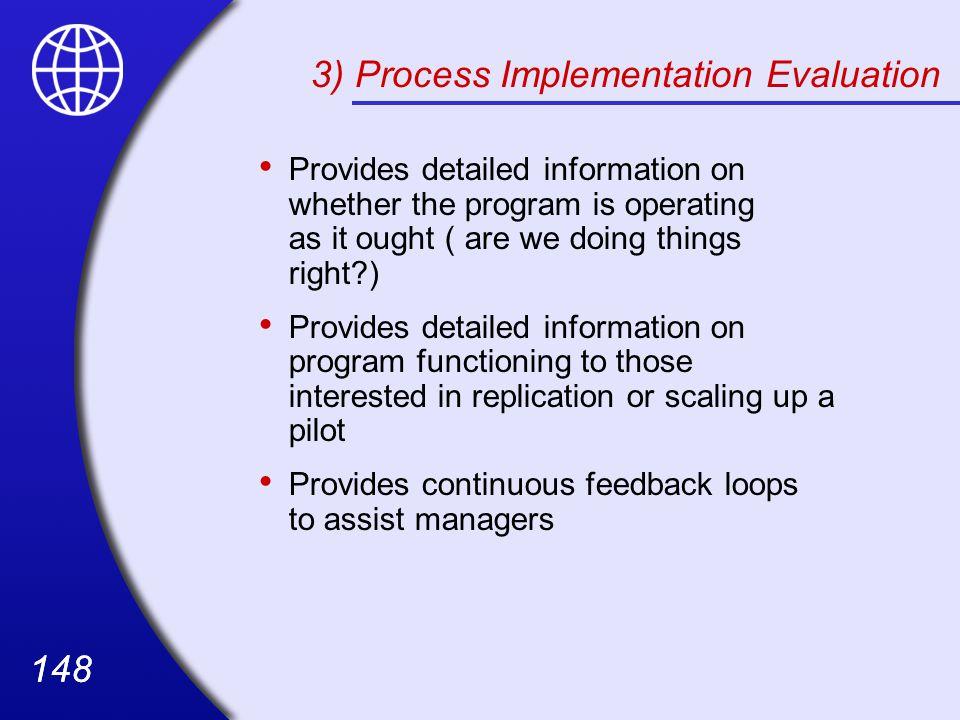 3) Process Implementation Evaluation