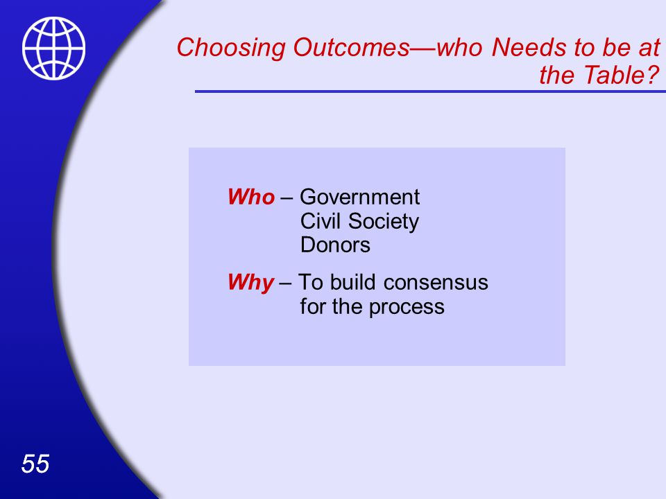 Choosing Outcomes—who Needs to be at the Table