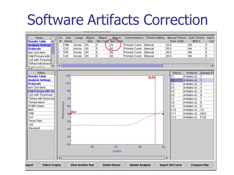 Software Artifacts Correction