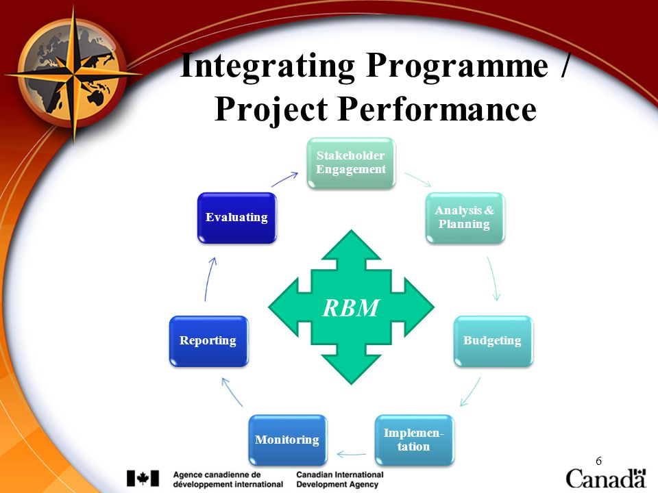 Integrating Programme / Project Performance