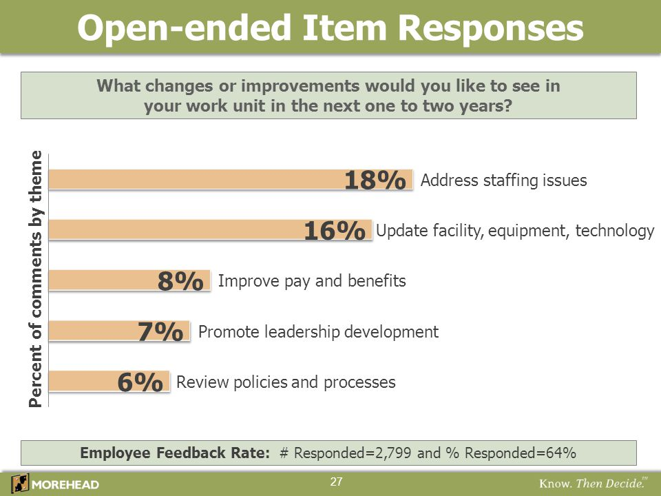 Open-ended Item Responses