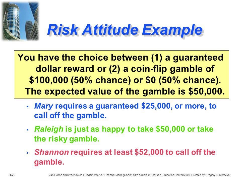Risk Attitude Example