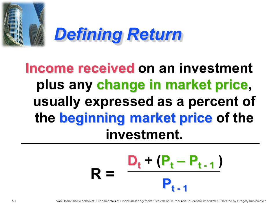 Defining Return