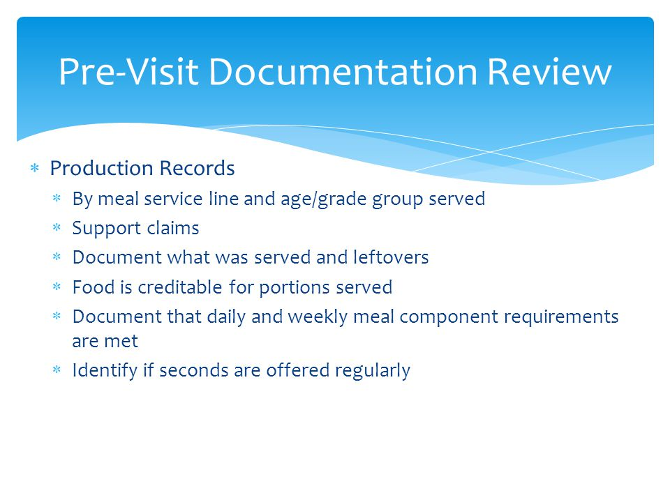 Pre-Visit Documentation Review