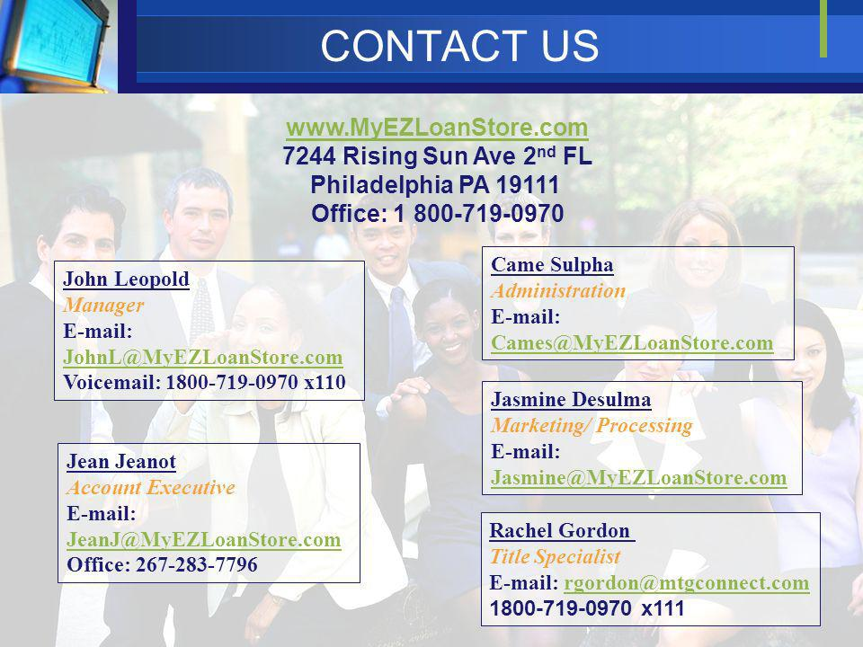 Philadelphia PA 19111 Office: 1 800-719-0970