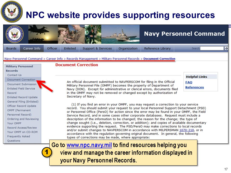 NPC website provides supporting resources