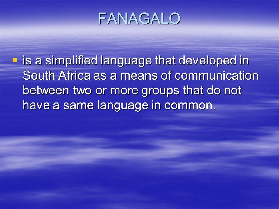 FANAGALO