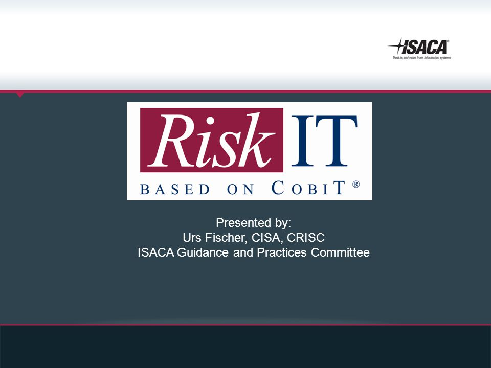 ISACA Guidance and Practices Committee