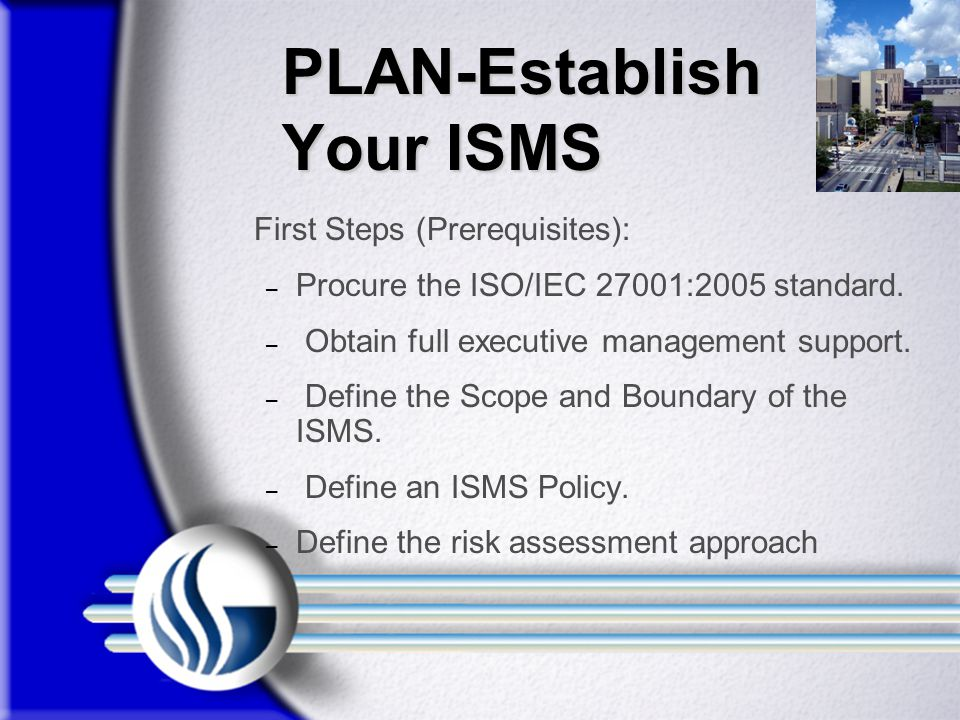 PLAN-Establish Your ISMS