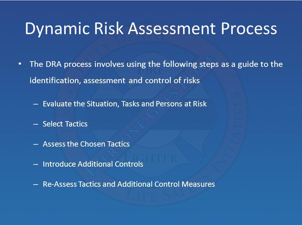 Dynamic Risk Assessment Process
