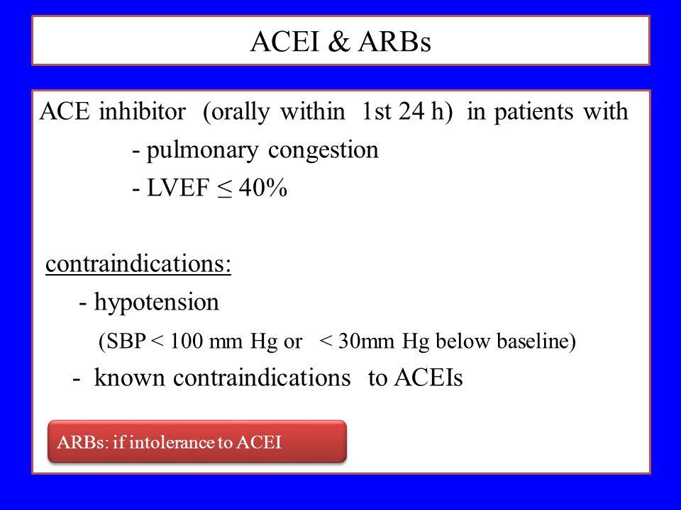 ACEI & ARBs
