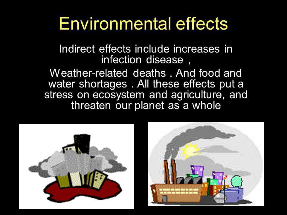 Environmental effects