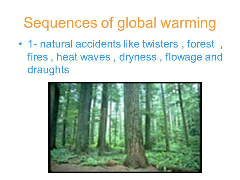 Sequences of global warming