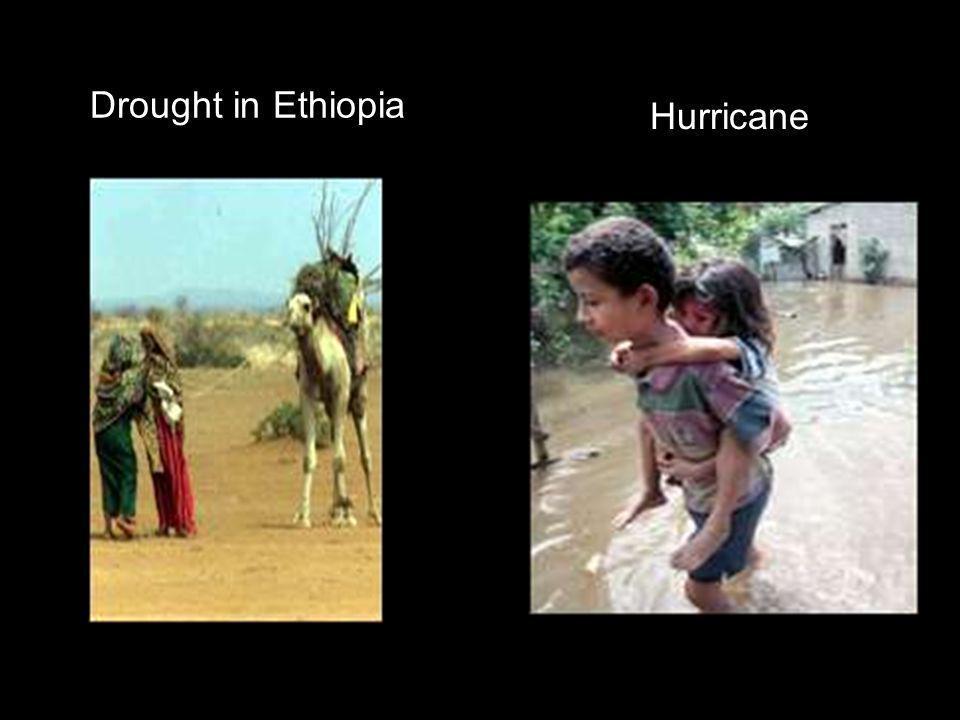 Drought in Ethiopia Hurricane
