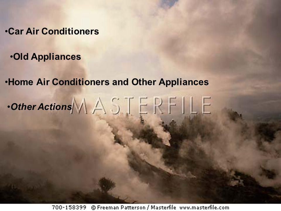 Car Air Conditioners Old Appliances Home Air Conditioners and Other Appliances Other Actions