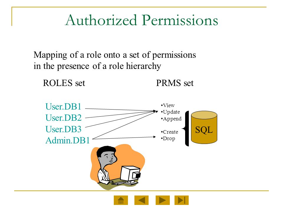Authorized Permissions