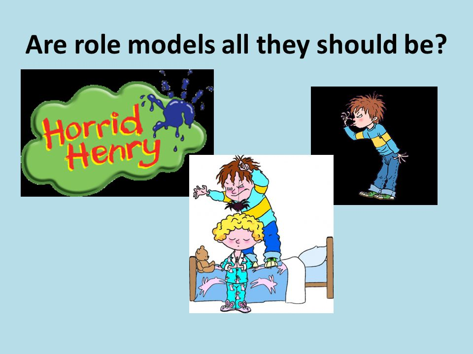 Are role models all they should be