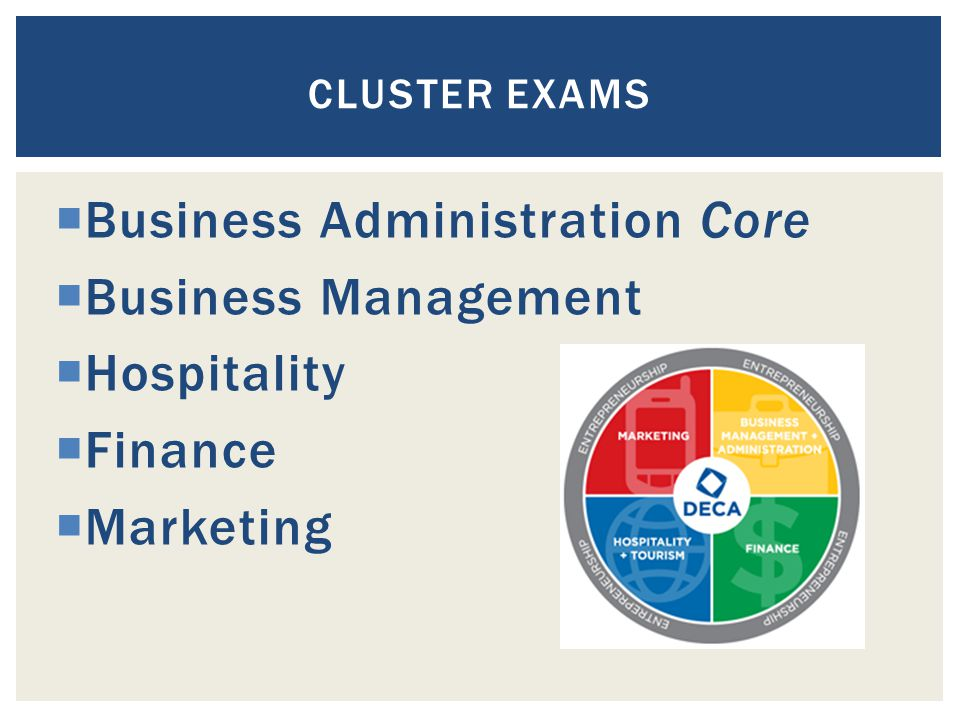 Business Administration Core Business Management Hospitality Finance
