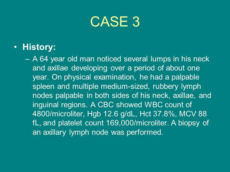 CASE 3 History: