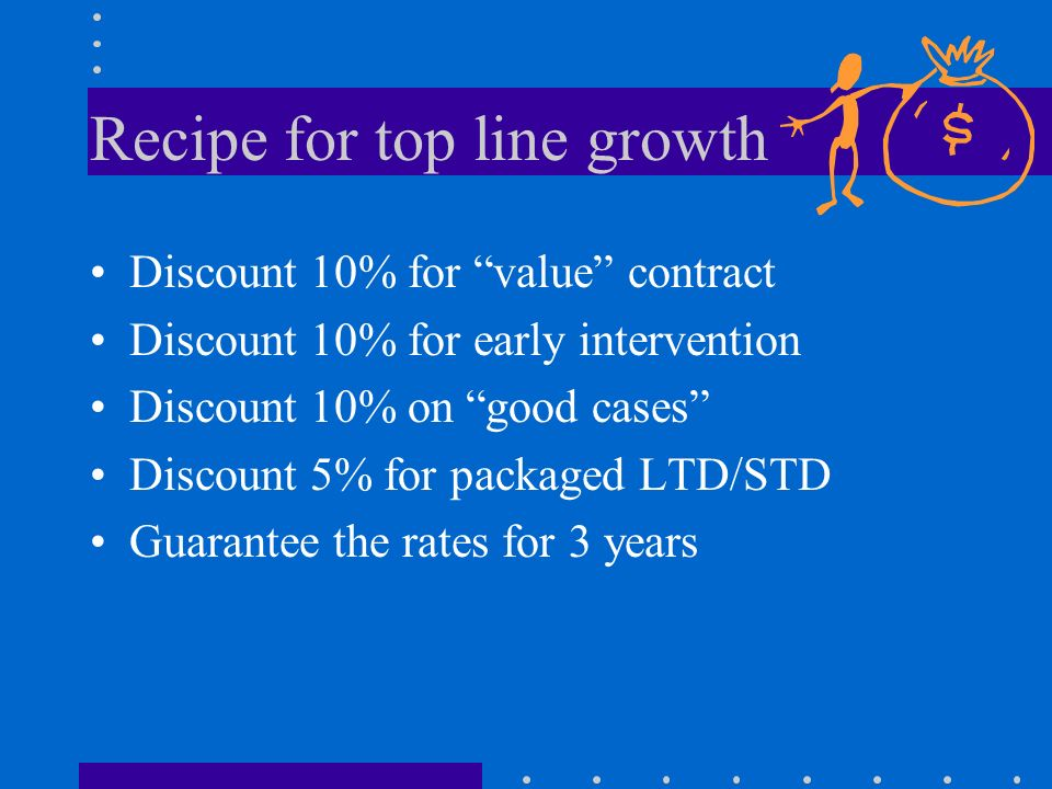 Recipe for top line growth