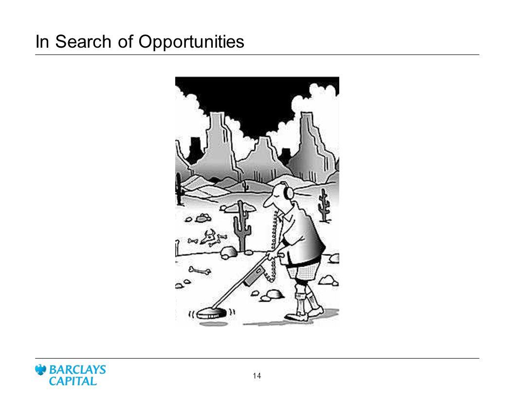 In Search of Opportunities