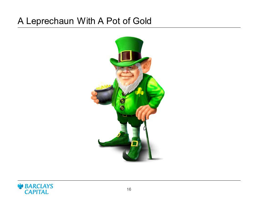 A Leprechaun With A Pot of Gold
