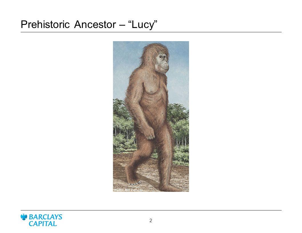 Prehistoric Ancestor – Lucy