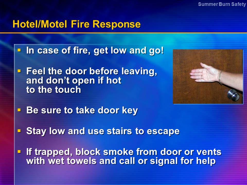 Hotel/Motel Fire Response