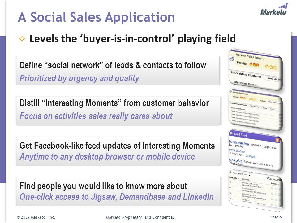 A Social Sales Application