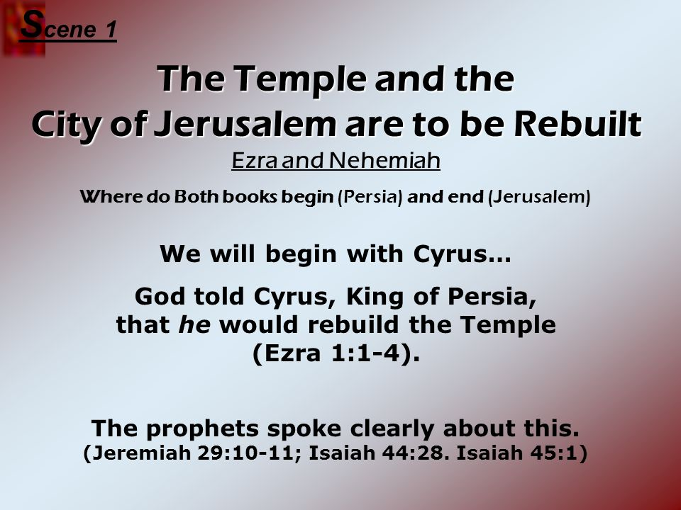 We will begin with Cyrus…