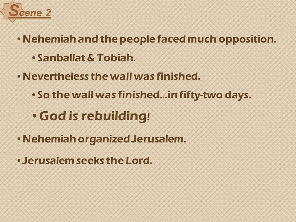 Scene 2 God is rebuilding!