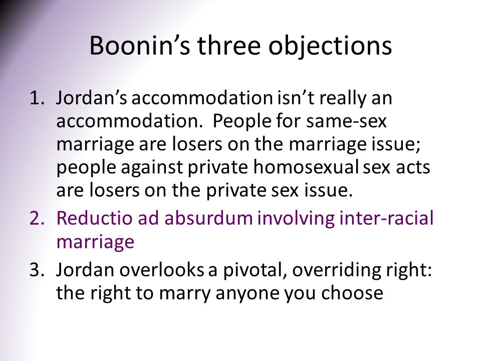Boonin's three objections