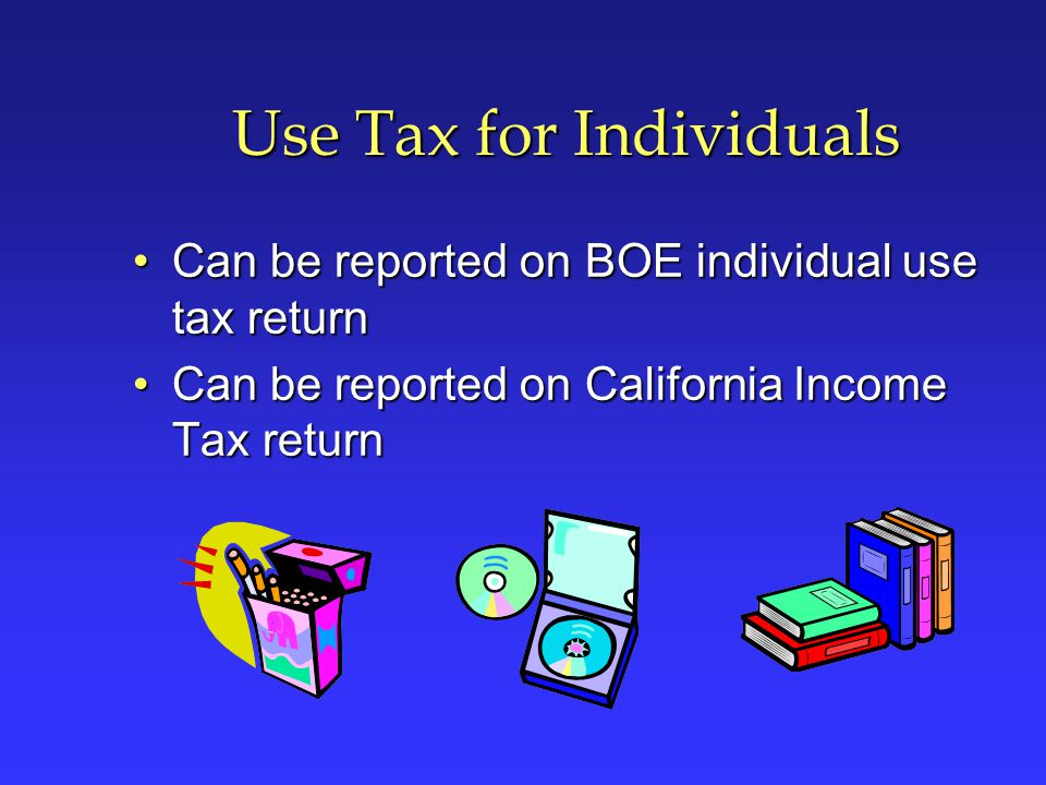 Use Tax for Individuals