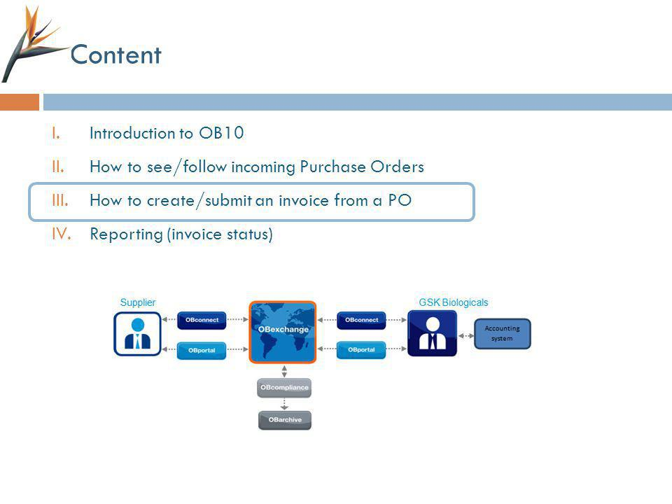 Content Introduction to OB10