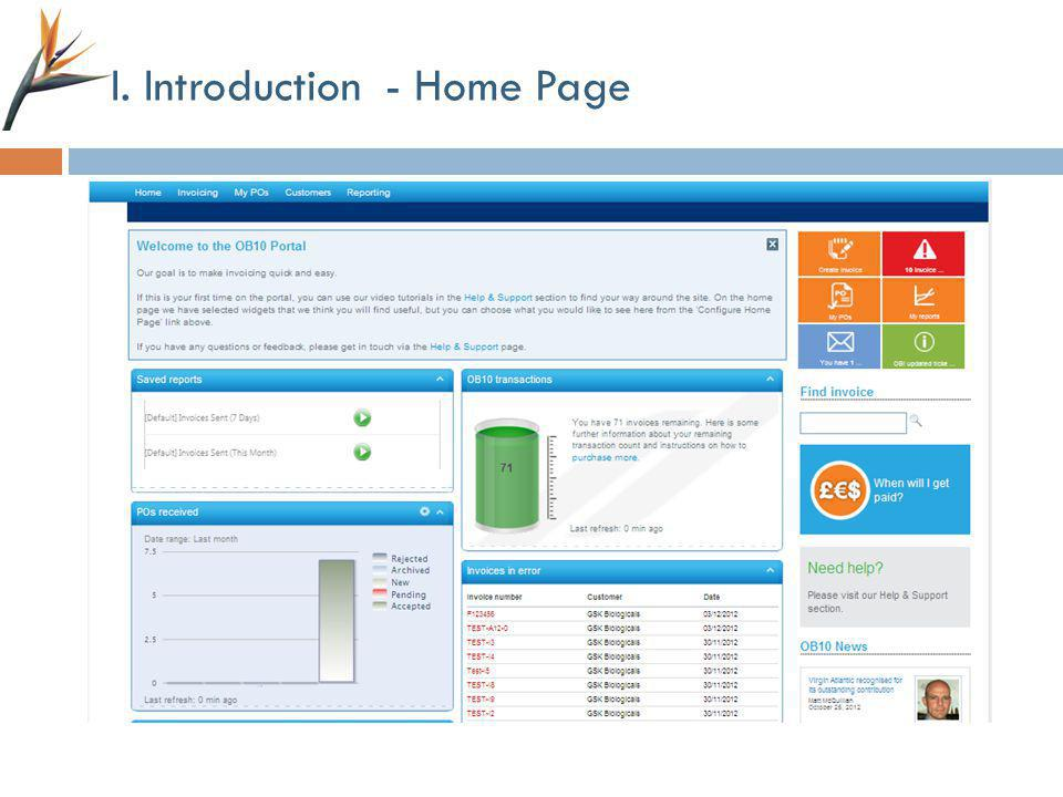 I. Introduction - Home Page
