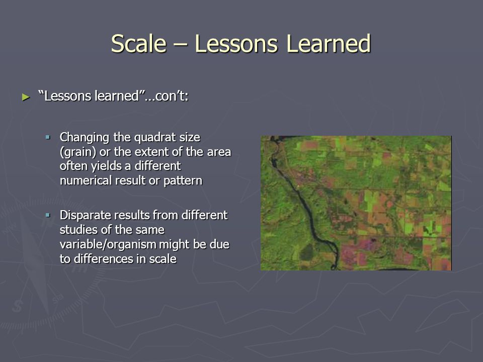 Scale – Lessons Learned