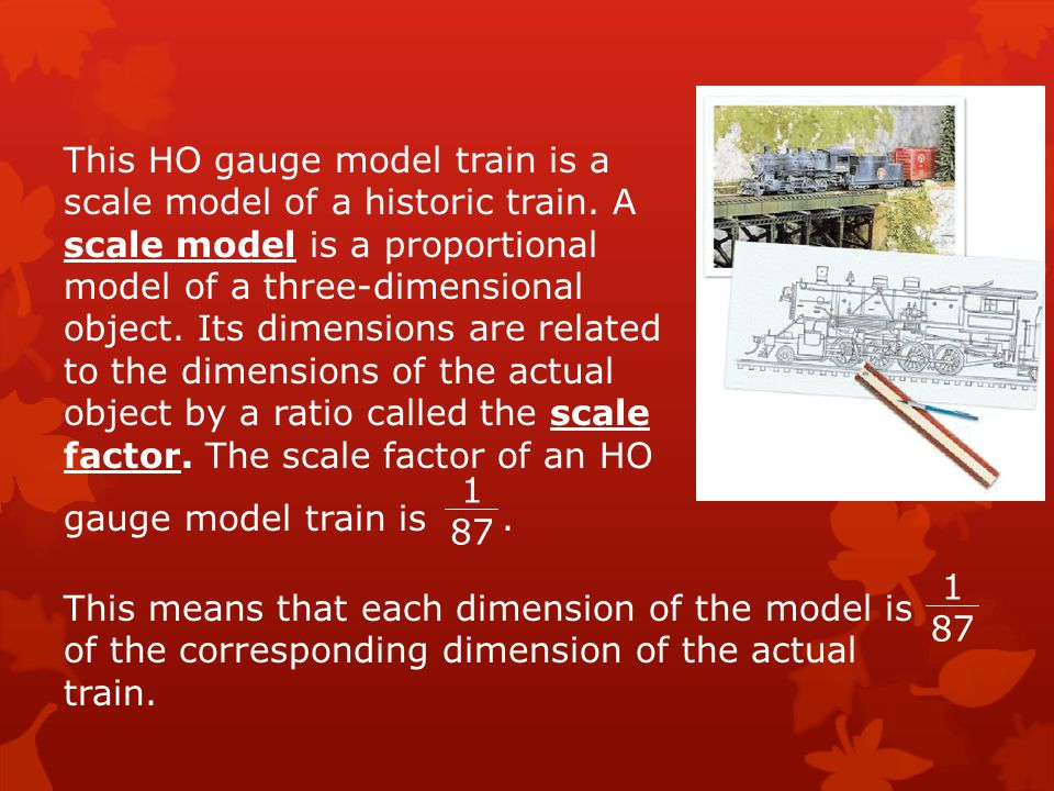 This HO gauge model train is a scale model of a historic train