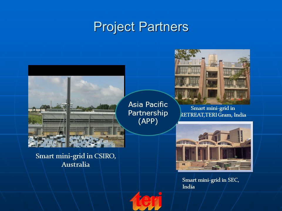 Project Partners Asia Pacific Partnership (APP)