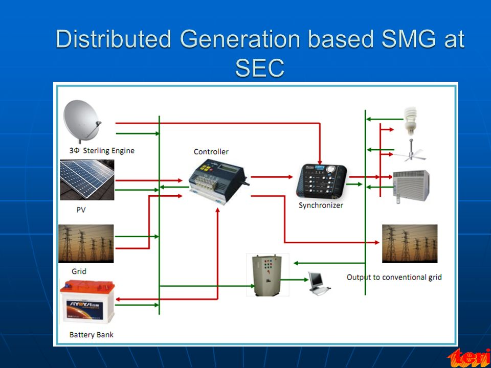 Distributed Generation based SMG at SEC