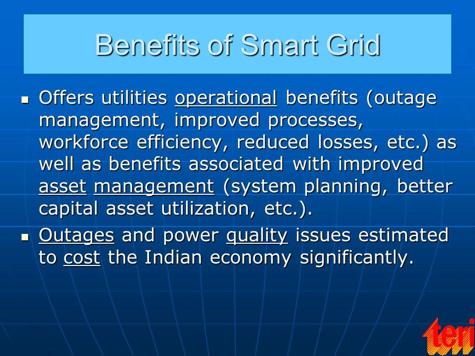 Benefits of Smart Grid