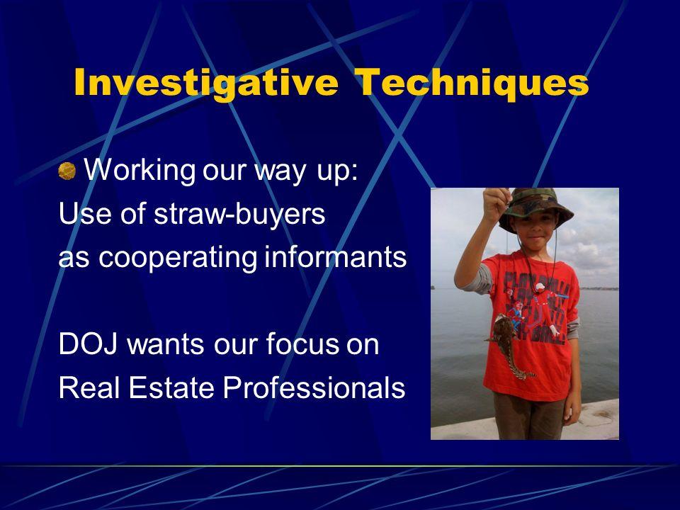Investigative Techniques