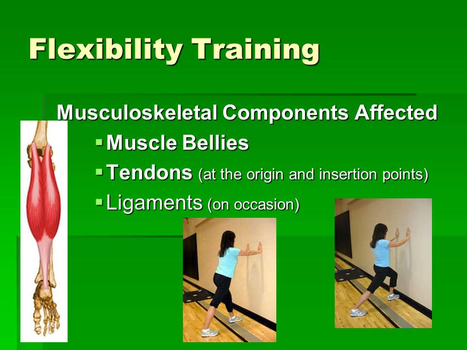 Musculoskeletal Components Affected
