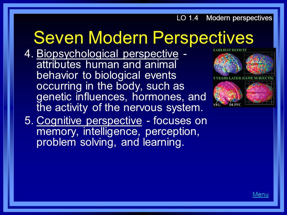 Seven Modern Perspectives