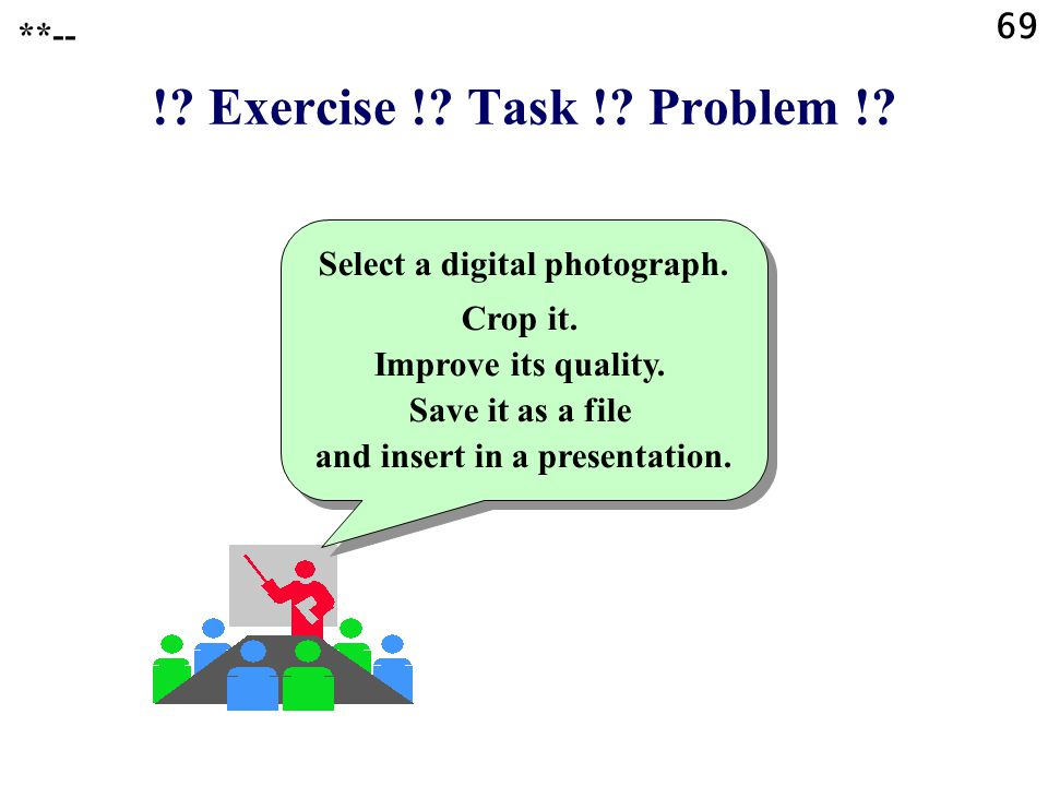 Select a digital photograph.